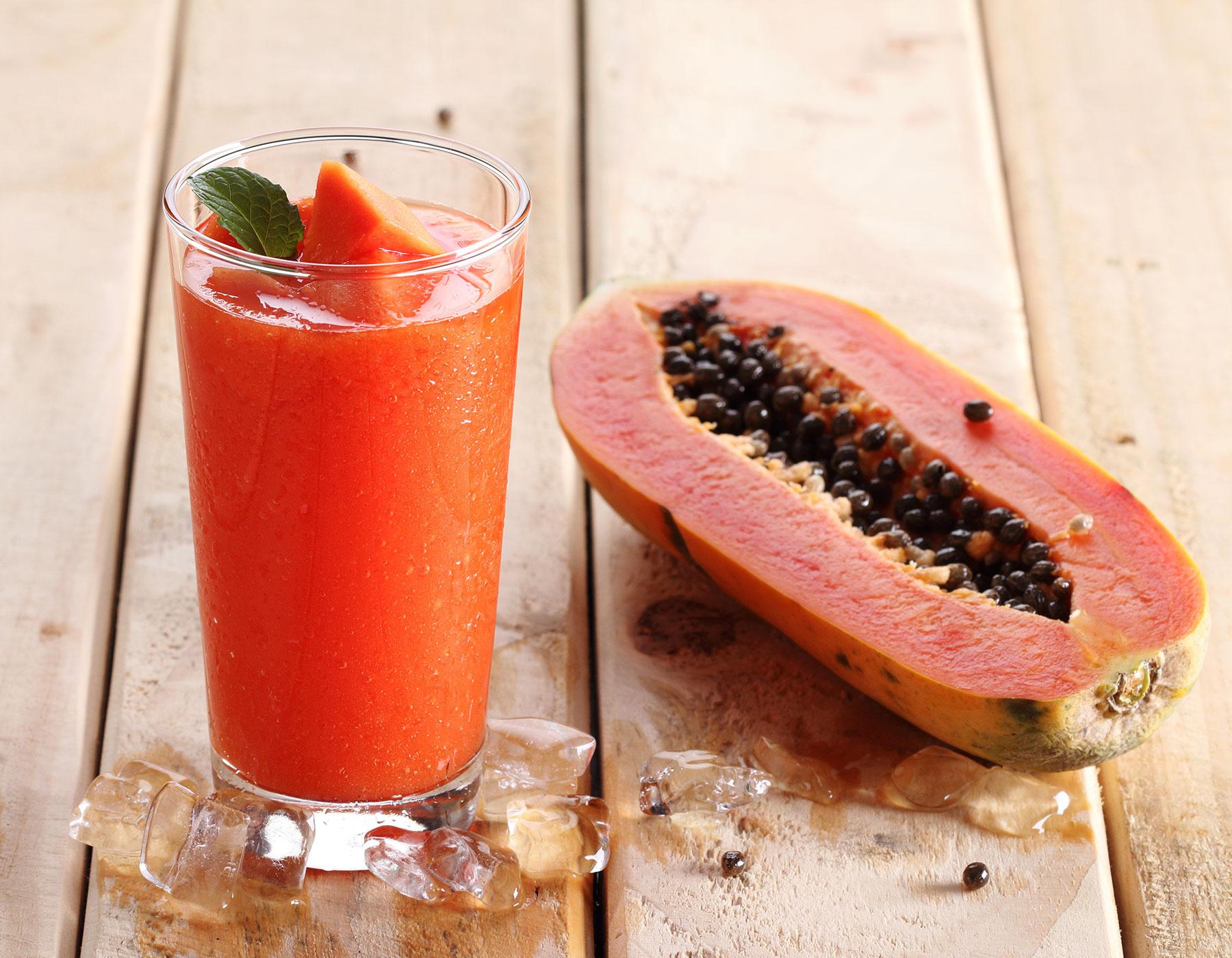Cómo Aliviar La Gastritis - Jugo de Papaya