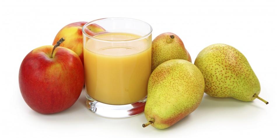 Cómo Aliviar La Gastritis - Jugo de Pera y manzana