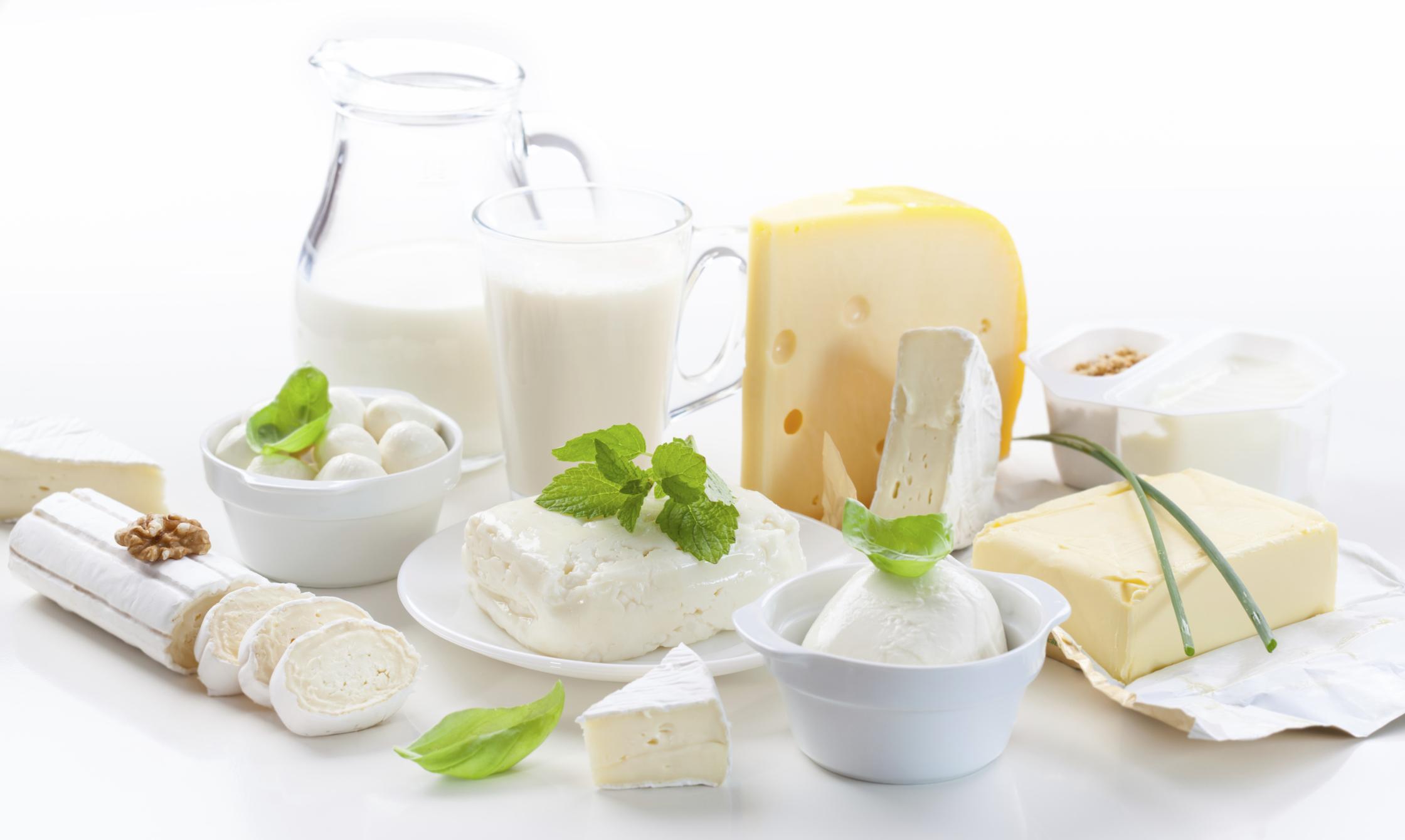Lácteos – Alimentos prohibidos para la gastritis y colitis