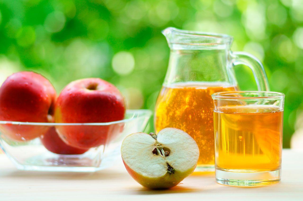 Tratamientos naturales para la gastritis en el embarazo - Jugo de Manzana